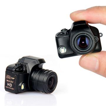תמונה של מיני מצלמה לצילום ווידיאו או סטילס עם פלש