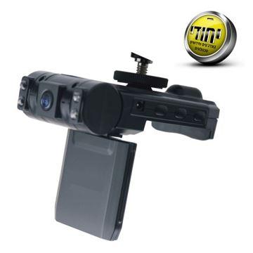 תמונה של מצלמת דרך לרכב עם צילום קדמי ואחורי